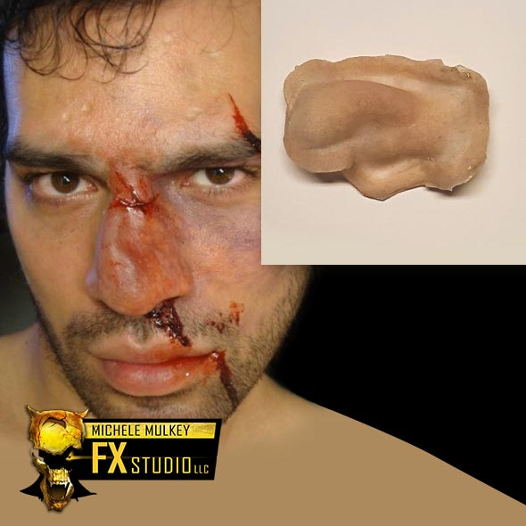 Broken Nose - Trauma FX Makeup